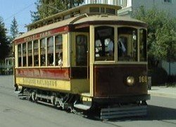trolley car 168 from oporto portugal